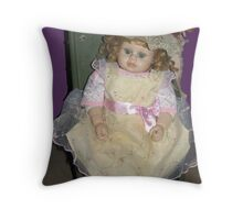 Rock A Bye Baby Throw Pillow