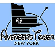 Avengers Tower (or Castle) from Age of Ultron Photographic Print