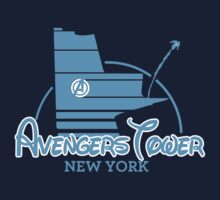 Avengers Tower (or Castle) from Age of Ultron (BLUE) by zenjamin