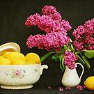 Still Life with Lilac and Lemons by VikaRayu