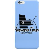 Avengers Tower (or Castle) from Age of Ultron iPhone Case/Skin