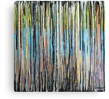 Flowing Lines Canvas Print