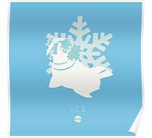 Pokemon Type  - Ice Poster