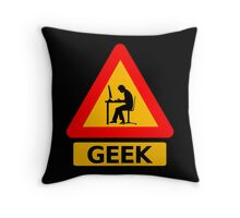 Geek Sign Throw Pillow