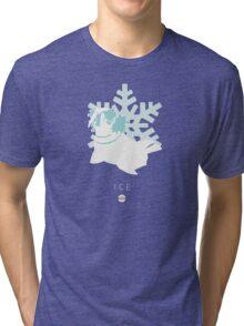 Pokemon Type  - Ice Tri-blend T-Shirt