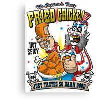 Tasty Fried Chicken Canvas Print