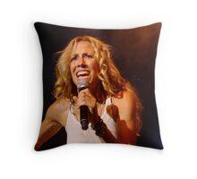 Sheryl Crow. Paris '08 Throw Pillow