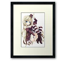 Noucome - Sexy Chocolat Framed Print