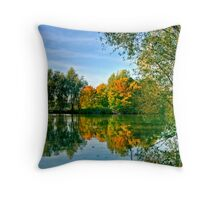 Ryton Pools Throw Pillow
