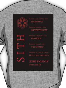 Sith Codex RED T-Shirt