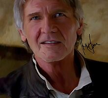 Harrison Ford Chewie, We're home! Star Wars Digital Painting by verypeculiar