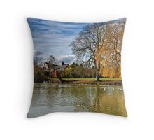 River Avon Throw Pillow