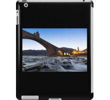 Old bridge over the river iPad Case/Skin