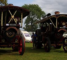 Two Steam Engines by Paul  Brewer