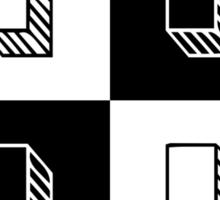 H for Husavendaczek Sticker