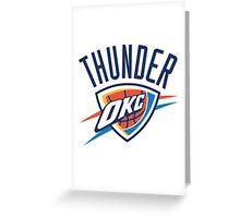 Oklahoma City Thunder Greeting Card