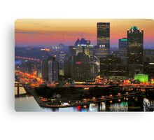 Rise and shine Pittsburgh Canvas Print