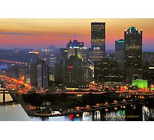 Rise and shine Pittsburgh Photographic Print