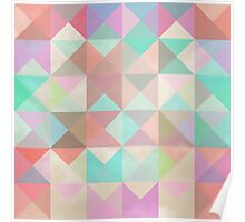 Triangles and Squares VIII Poster