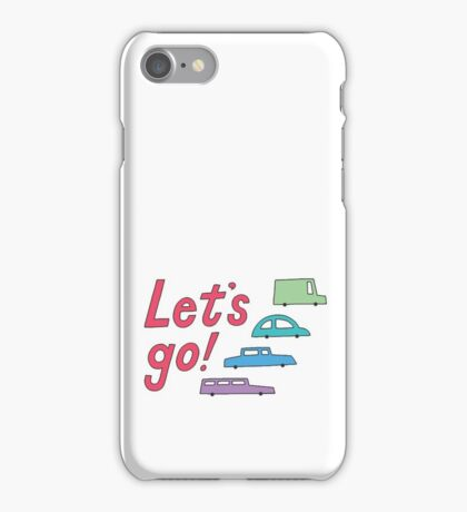 let's go! iPhone Case/Skin