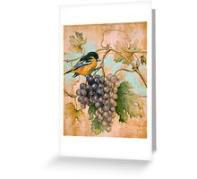 Orioles wine Greeting Card