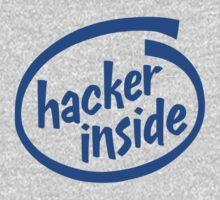 Hacker Inside Kids Clothes