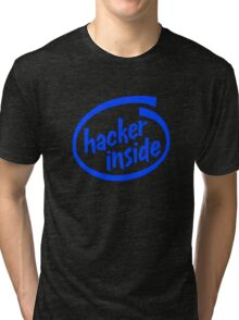 Hacker Inside Tri-blend T-Shirt
