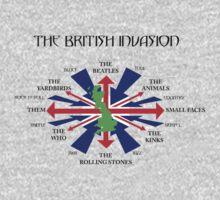 1960's British Invasion by EvilGravy