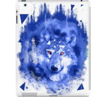 glitch wolf iPad Case/Skin