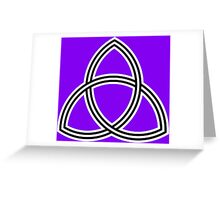 Triquetra Vesica Greeting Card