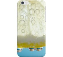 Bubbly Lemon - Blue 2 iPhone Case/Skin