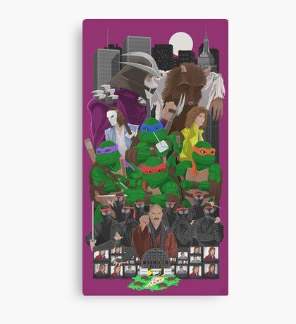 Turtle Power 25th Canvas Print