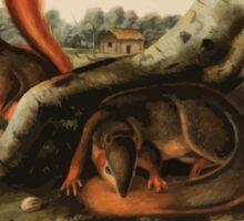 James Audubon - Quadrupeds of North America V2 1851-1854  Jay's Squirrel Sticker