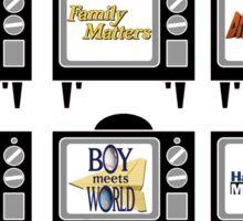 I Grew Up On ABC's TGIF Sticker