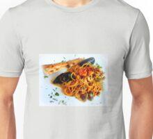 Spaghetti Frutti Di Mare Unisex T-Shirt