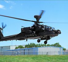 The AH-64 Apache by Donnie Shackleford