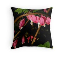 A Bow of Hearts Throw Pillow