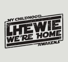 Chewie We're Home (My Childhood Awakens) - Dist black by coldbludd