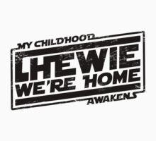 Chewie We're Home (My Childhood Awakens) - Dist black Kids Clothes
