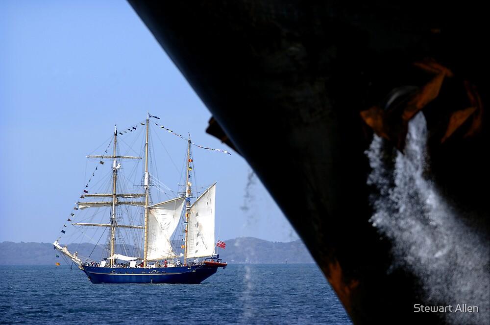 Sail And Anchor 1, Fremantle, Western Australia. by Stewart Allen