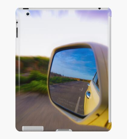 While Driving iPad Case/Skin