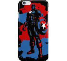 Captain America Paint Splatter iPhone Case/Skin