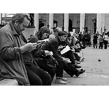 All the People Photographic Print