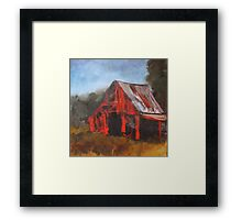 North Carolina Barn Framed Print