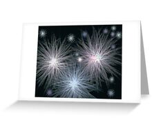 Stars Wrapped in Night Greeting Card