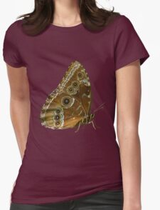 Beautiful Butterfly Wings of Meadow Brown Isolated T-Shirt