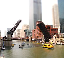 Chicago River Tilt by rabeeker