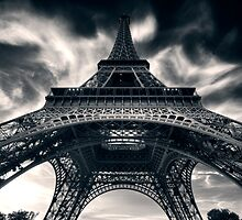 Eiffel Tower by Roger Madsen