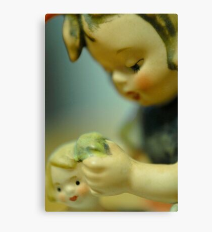 Doll Bath Canvas Print