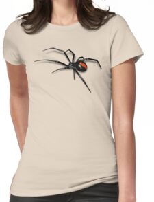 Redback Spider Black Widow Womens Fitted T-Shirt